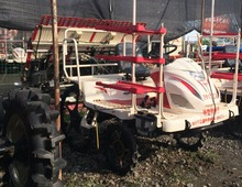 Second hand Kubota rice transplantor rice harvester in low price