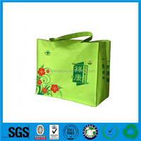 2016 Guangzhou folding pocket promotion shopping bag,tote canvas bags