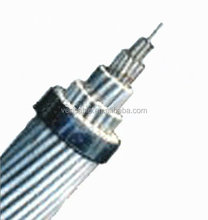 Power Transmission Cable Hard Drawn Stranded Types of ACSR Conductors ACSR Raven Conductor 1/0 AWG Cable