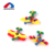 Custom educational diy 3d construction toy colorful airplane self-assembly toys for kids