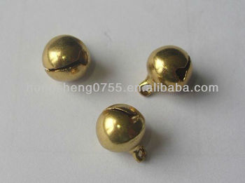 Cheapest small metal brass jingle decorative bell
