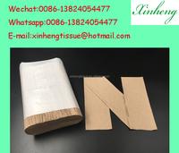 Top selling in USA N fold recycle brown paper towel