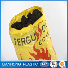 breathable firewood packaging pp woven bag, waterproof pp flour sack with low price