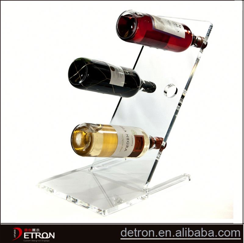 New Design acrylic beer glass rack