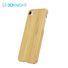 Customize natural hard bamboo wooden cover for iphone 7 cell phone wood bamboo case