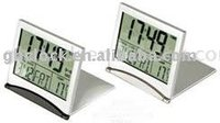 LCD Travel alarm Clock folder clock digital clock