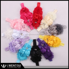 NEW hot sale baby headbands baby hairband with flower