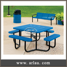 (TB15) Arlau Steel Round Patio Table Sets Garden Metal Outdoor Furniture, street furniture manufacturers