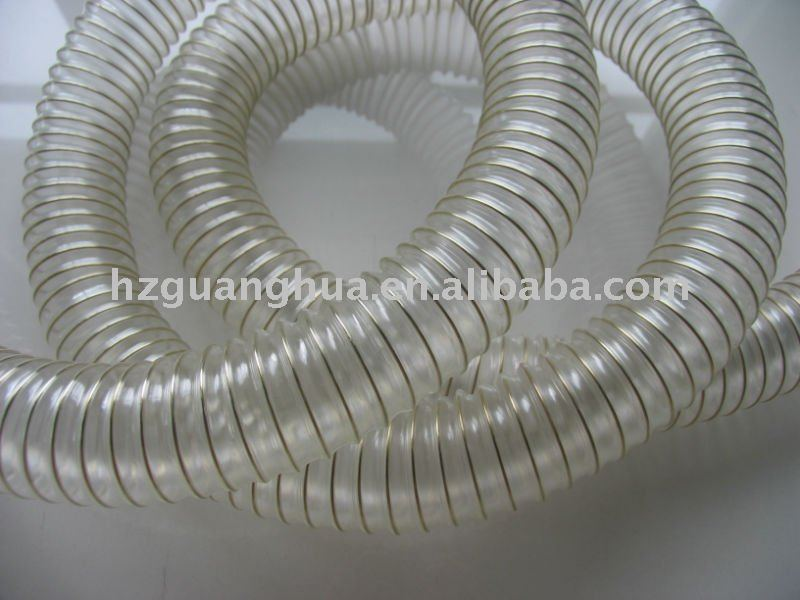 Drying hose,extraction hose,corrugated pu hose
