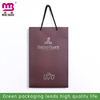 Shopping packaging use custom logo printed recycled paper bag Guangzhou supplier wholesale