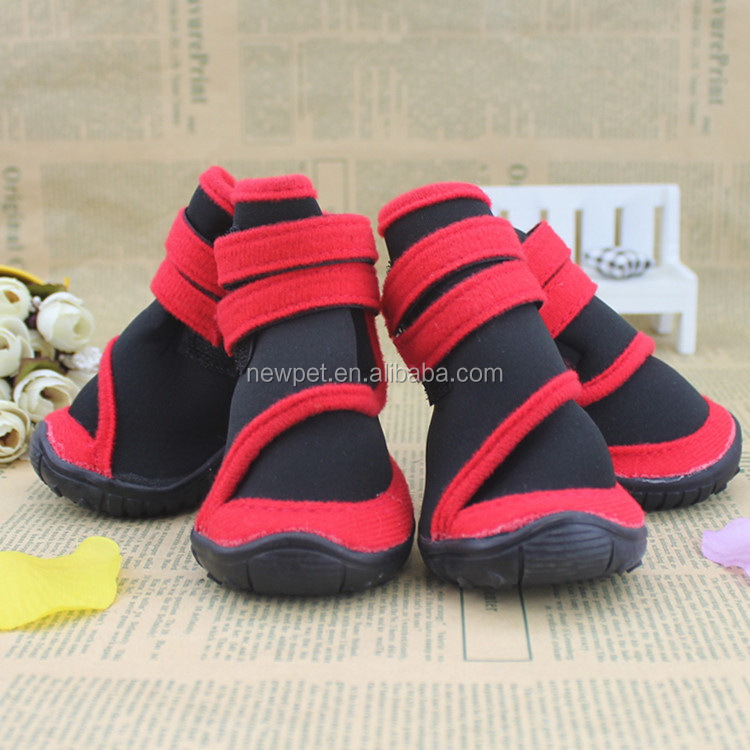 Factory direct hot sale no-skid sole boots and socks pets and dogs shoes