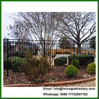 Iron Fence Models Design for home garden