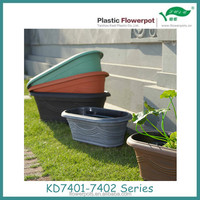 KD7401P-7402P(40CM-50CM) Trough Planter Window Box