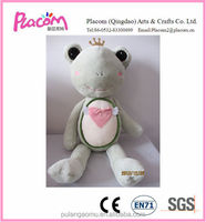 Very Popular Lovely Plush Frog Toy for Valentine