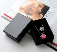 Top Sale Black Necklace Paper Gift Box Jewellry Packaging Box