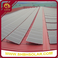 QC Type Aluminum Pitched Roof Solar Panel Mounting System