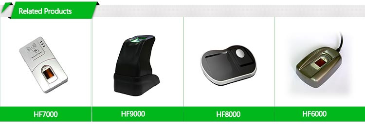 Android/IOS Mobile Connector Biometric Device HF5000