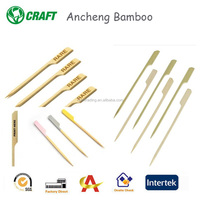 Decorative fruit cocktail burger bamboo gun skewer supplier