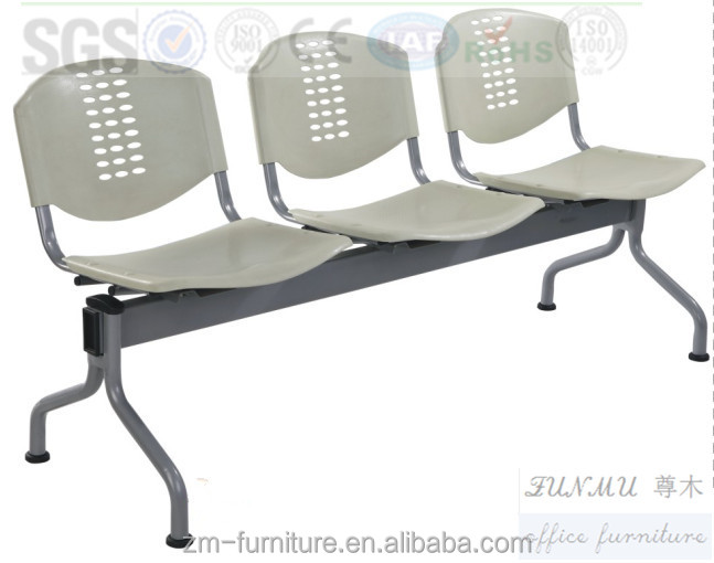 Wholesale Price Public Plastic 3 Seater Waiting Chair