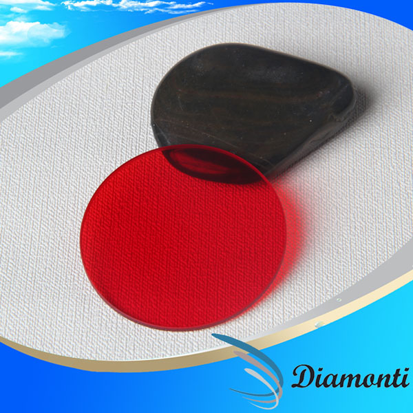 factory offered color red optical filter