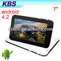2013 Hot sell mic tablet pc android 2.2 Support Android 4.2 , Extra 3G