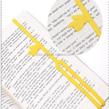 Custom 3d silicone pointing finger bookmark