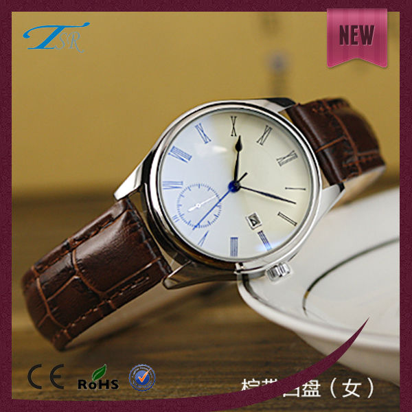 Nice quality custom quartz name brand wholesale japan movt quartz stainless steel watch