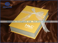 hot sale anufacturer high end new arrival design packaging and branding boxes
