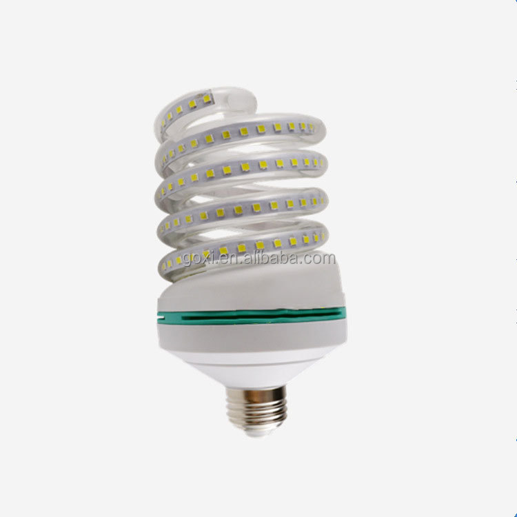 Energy saving led spiral light 16w 24w 32w led corn light bulb for indoor lighting