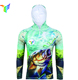 Sublimation Printed clothes Men Fishing Jersey