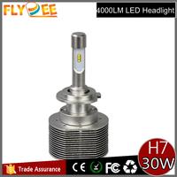 Update 30W 4000lm 2S car head light H4 h7 h11 LED headlight replacement halogen bulb