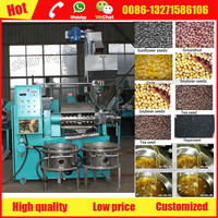 Home and commercial uses rice bran oil making machine for export sale
