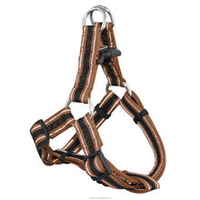 New Premium Lightweight reflective piping mesh harness dog