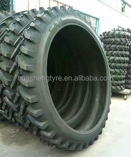 Agricultural tyre 12.4-54 with R-1 tread pattern used for Spraying machine