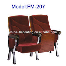 FM-207 Floor mounted theatre seats with armrest