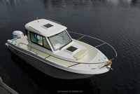 OCEANIA 23WA Closed Cabin Fiberglass Yacht Fishing Boat For Sale