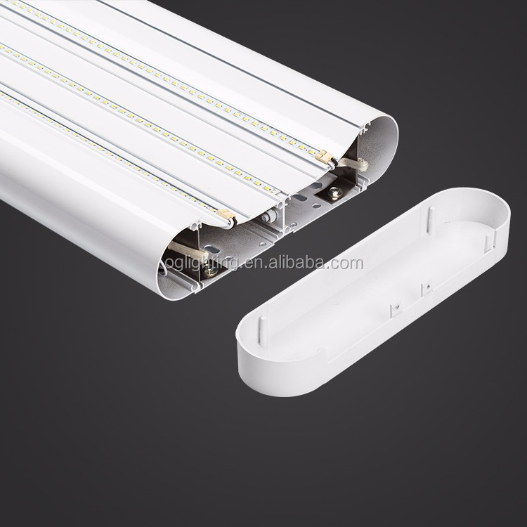 Ra83 emergency battery backup commercial Basketball court hanging light 3000k 4000k 5000k 6000k dimmable led pendant linear lamp