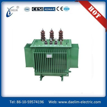 SH15-M series 6.3kv 800kva Three phase Full sealed Amorphous Alloy Distribution Transformer