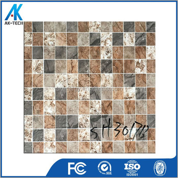 30x30 anti slip ceramic floor tile , full body porcelain tile bathroom from china
