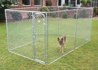 lowes dog kennels and runs/cheap chain link dog kennel wholesale