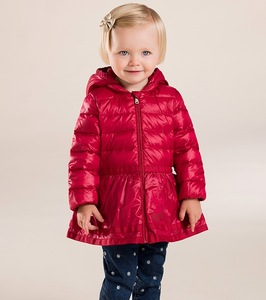 China suppliers wholesale winter kid girl down jacket child clothes