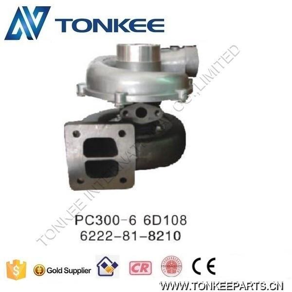 PC300-6 6D108 TURBOCHARGER