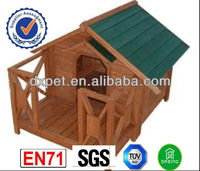 wooden dog kennel DXDH015