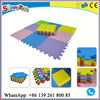 Children indoor soft floot EVA mat playground equipment csp interlocking gym flooring mat