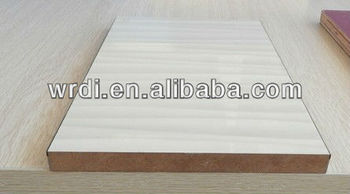 UV mdf wood grain board for kitchen cabinet