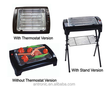 hot selling 2000W stand electric BBQ grill