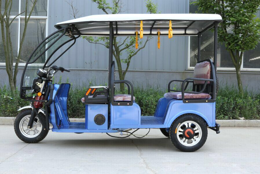 bajaj three wheeler battery rickshaw/ taxi tricycle for Asian market