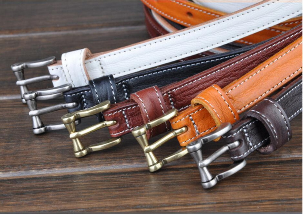 fashion lady and woman genuine leather belt