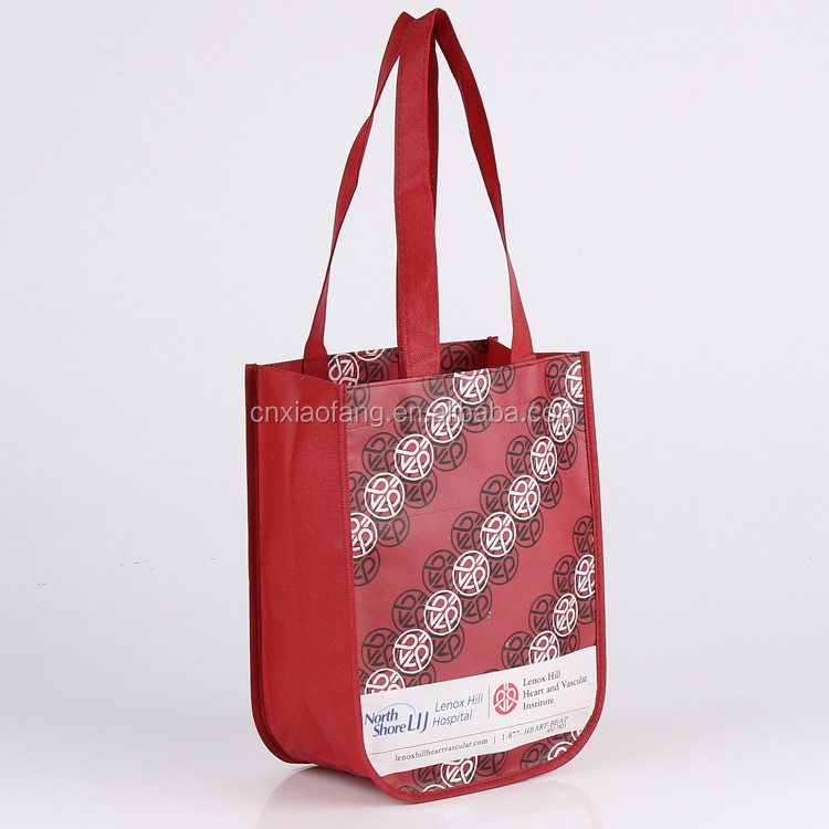 Custom multi color non woven fabric cheap price small size gift bag