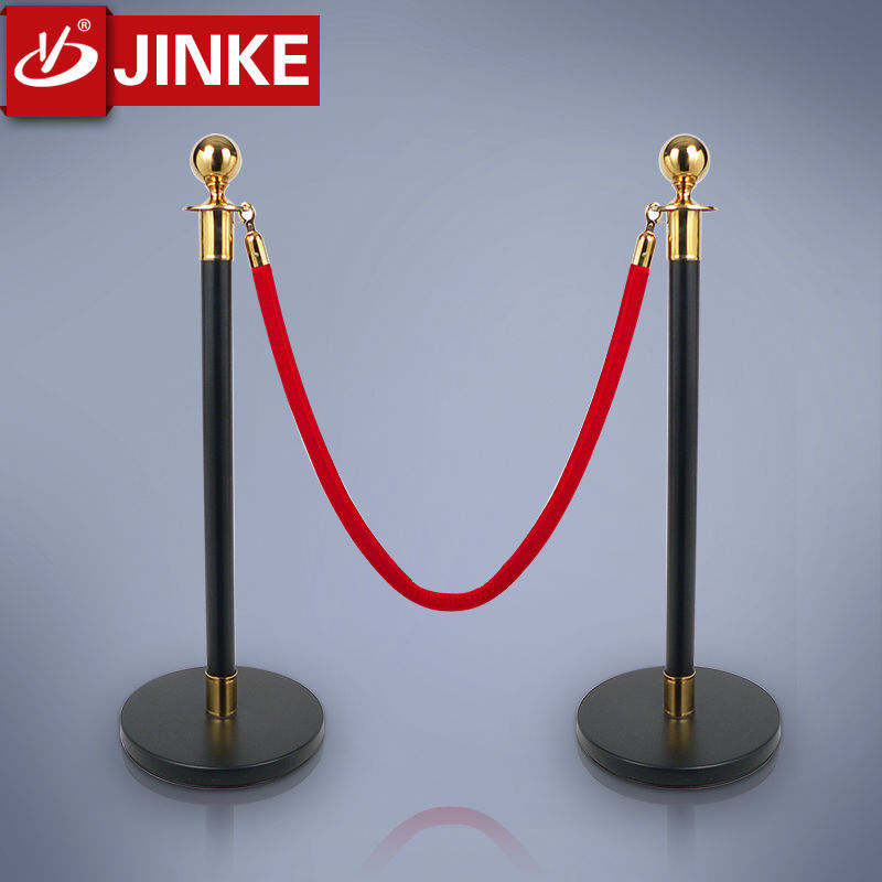 Decorative Off Road Metal Crowed Conrol Rope Stanchion Bollard Stand